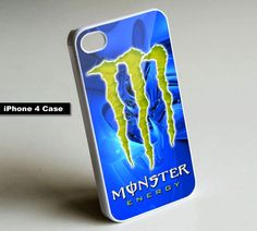 Monster Energy Drink - iPhone 4 Case, iPhone