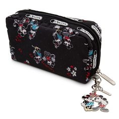 2d724321830c Mickey and Minnie Mouse Cosmetic Bag by LeSportsac