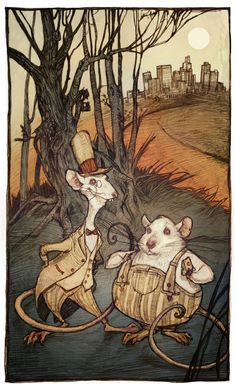 City Mouse, Country Mouse by Audrey Benjaminsen