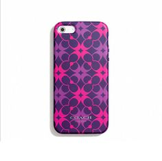 Coach Iphone 5 Case in Waverly Print. Starting at $1 on Tophatter.com!