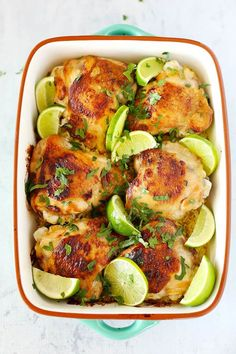 One Tray Honey Lime Chicken + Rice - Kids Eat by Shanai Easy Healthy Recipes, Asian Recipes, Healthy Food, Dinner Dishes, Dinner Recipes, Dinner Ideas, Main Dishes, Honey Lime Chicken, Mango Chicken