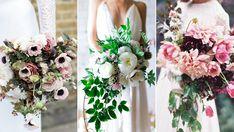 Brudbuketter för vår- och sommarbröllopet