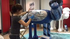 Time Lapse of Laura Cramer painting one of the new Shaun in the City sculptures for the 2015 trail!  Find out more at: http://www.shauninthecity.co.uk/