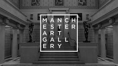 Manchester Art Gallery Rebrand by Tom Broadhurst, via Behance