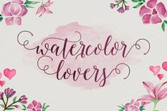 Ad: Octavia Script by AF Studio on Octavia Script is another lovely modern calligraphy typefaces, which is combining the style of classic calligraphy with an modern style.