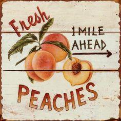 Retro Tin Sign for Farmhouse Kitchen Style | Celebrating Everyday Life with Jennifer Carroll | www.CelebratingEverydayLife.com