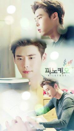 Lee jong suk #Pinocchio 2014 Cr. Logo
