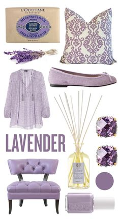 Love these pretty purple pastels. (Especially the soap!)