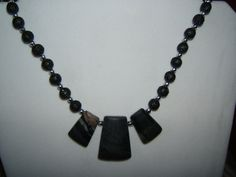 Picasso Marble Necklace by BJDevine on Etsy