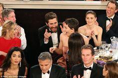 Proud Jake Gyllenhaal congratulates big sister Maggie at GoldenGlobes #dailymail