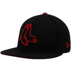 4a4820e9447ae New Era Boston Red Sox Black Tonal Pop 59FIFTY Fitted Hat