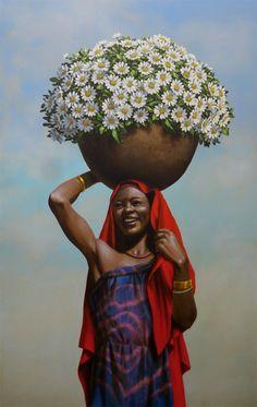 colhedora de flores