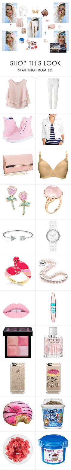 """go shopping"" by maelysa971 ❤ liked on Polyvore featuring Chicwish, Dorothy Perkins, Dr. Martens, New Look, Lorna Drew, Big Bud Press, Goshwara, Bling Jewelry, DKNY and Kate Spade"
