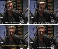"""So Tom Hiddleston, you are a student of film..."""
