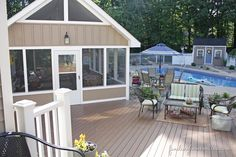 love the little storage shed in the back- totally a good replacement  for our trash hut!