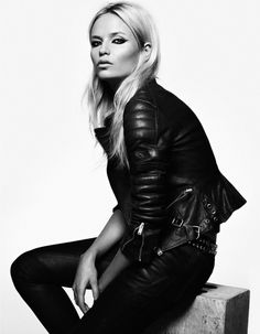 Natasha Poly by Lachlan Bailey for Vogue Spain November 2011