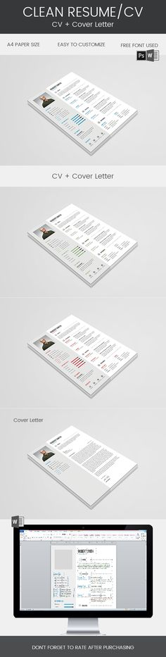 HOW TO GET YOUR DREAM JOB - Resume Template - CV Template - Free - free resume templates for word 2018