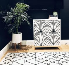 DIY IKEA Hack Art Deco Cabinet