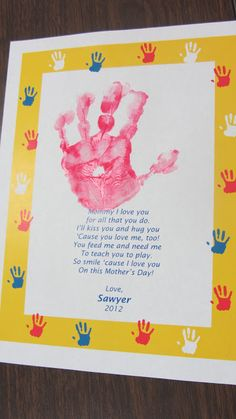 Teaching 2 and 3 Year Olds: Mother's Day