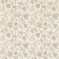 Sanderson Solaine   Perigold Fabric Wallpaper, Wallpaper Roll, Foyer Wallpaper, Wallpaper Ideas, Painted Rug, Wallpaper Calculator, Wallpaper Direct, Wallpaper Online, Reception Rooms