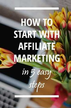 If you want to start your own affiliate marketing business check out these 5 easy steps to get started with affiliate marketing and build a sustainable profitable home business right now.