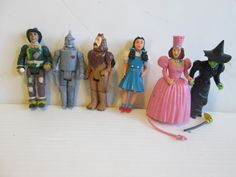 Set 6 Wizard of Oz 1988 Jointed Figures Lot by suburbantreasure, $49.00