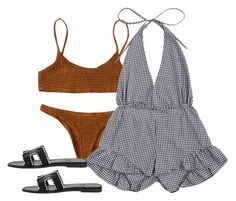 Designer Clothes, Shoes & Bags for Women Bikini Outfits, Beach Outfits, Summer Outfits, Cute Outfits, Summer Flatlay, Looks Style, My Style, Ram Module, Alien Girl