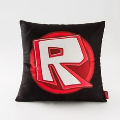 Roblox Logo Pillow Back Cushion