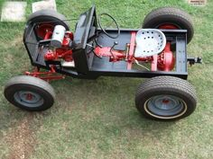 Home Built Power Pup Tractor | More information about Homebuilt Tractor Plans on the site: