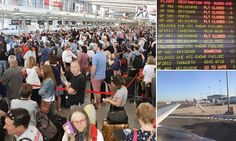 09/24/2017 - Chaos as ALL flights at Sydney Airport are grounded due to power outage on the first day of school holidays
