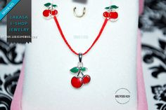 #cherry #set #earrings #necklace #jewelry #enamel #red #joyas #kids #collection #children #school #moda #silver #jewellery #bestideasgifts #birthdaygifts #birthday #παιδι #κοριτσι #παιδικο #κοσμημα #setkids #κερασια #φρουτα #σμαλτο #κοκκινο #πρασινο #κερασακια #sweet #cherries #freeshipping #free #delivery #αντικαταβολη #δωρεαν #εξοδα Religious Cross, Sweet Cherries, Enamel Jewelry, Cherry Red, Jewelry Collection, Washer Necklace, Jewelry Necklaces, White Gold, Stud Earrings