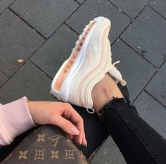"""Nike Air Max 97 """"Guava Ice"""" nur hier erhältlich Link in Bio aller Größen . Nike Air Shoes, Nike Shoes Outlet, Nike Socks, Air Max 97, Aesthetic Shoes, Cute Sneakers, Hype Shoes, Fresh Shoes, Trendy Shoes"""