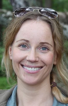 Sofia Helin plays Saga Noreen in The Bridge.  Incredible actress.
