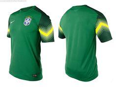 Camisas de goleiro do Brasil 2014 Nike