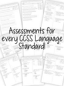 Education to the Core: Assess the Common Core Standards with Ease! Great for testing that difficult language section!!