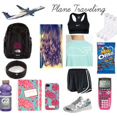 """Plane ride"" by southerbelle549 on Polyvore"