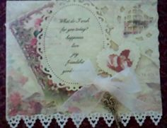Made one similiar for my husbands 90 year old Aunts birthday by Cara Beck