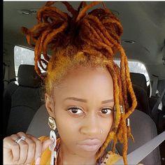 N, W - myhaircrush: Dreadlock Styles, Dreads Styles, Curly Hair Styles, Dreadlock Hairstyles, Cool Hairstyles, Beautiful Hairstyles, Natural Hair Cuts, Natural Hair Styles, Hair Inspo