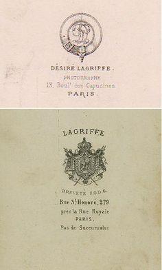 LAGRIFFE + Désiré LAGRIFFE - Paris