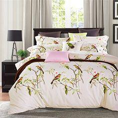 TheFit Paisley Bedding for Adult T169 Elegant Birds Duvet Cover Set 100% Cotton, Queen King Set, 4 Pieces (King) TheFit http://www.amazon.com/dp/B01A5WD2S4/ref=cm_sw_r_pi_dp_rgiaxb0RGKR1K