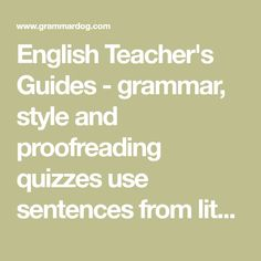 Drawing sentences a guide to diagramming by eugene moutoux a english teachers guides grammar style and proofreading quizzes use sentences from literature over ccuart Gallery