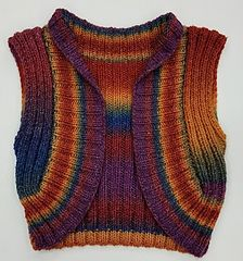 Ravelry: One-Piece Shrug pattern by Yarns at Border Leather
