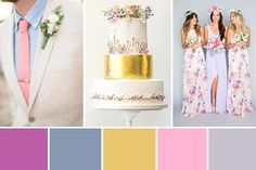 Wedding Colour Palettes | OneFabDay.com