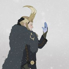 Fan art of Loki from the new Thor flick.