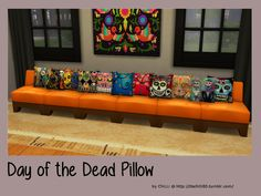 Sims 4 CC's - The Best: Pillows by ChiLLis Sims