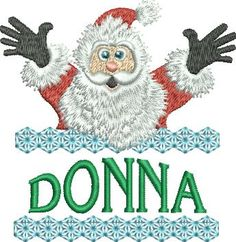 Surprise Santa Name - Donna