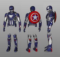 Pepakura Designer, Marcus Anthony, Avengers Infinity War, Batgirl, Marvel Avengers, Captain America, Motorcycle Jacket, Cosplay, Trending Outfits