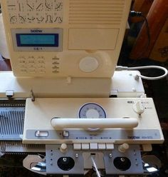 Brother knitting machine Electronic KH 970 complete serviced