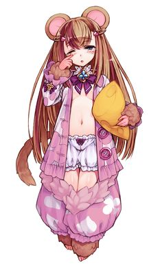 Dormouse - Monster Girl Encyclopedia Wiki - Wikia