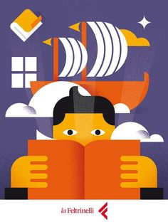 Advices for reading. My #cover #illustration for La Feltrinelli